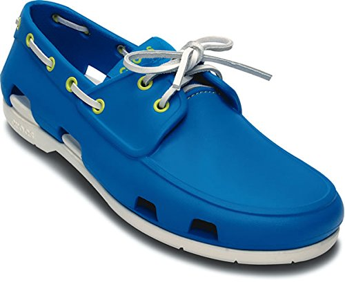 893fff939cb18b Crocs 14327-491 Mens Ocean And White Boat Shoes M10- Price in India