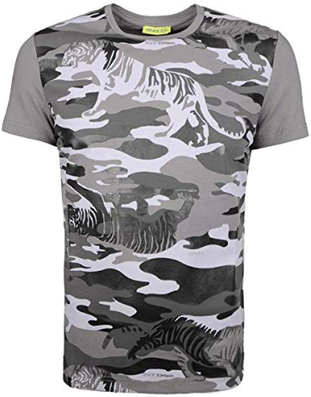 Versace Jeans T-Shirt Slim - B3GQB718   Print MT8 - Dimensione L (EU)   flagship store    Uomo/Donna Scarpa