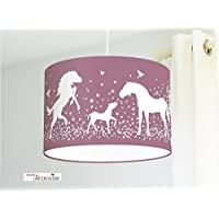 Deckenlampe Pferde
