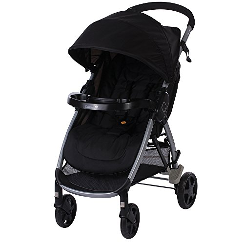 SAFETY 1ST 1220764000 STEP & GO  COCHECITO  FULL BLACK  COLOR NEGRO