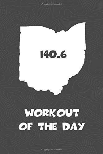 Workout of the Day: Ohio Workout of the Day Log for tracking and monitoring your training and progress towards your fitness goals. A great triathlon ... bikers  will love this way to track goals!