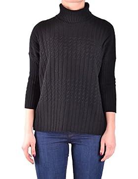 Jucca Mujer MCBI466018O Negro Lana Suéter