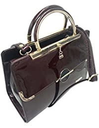 Purse Collection Elegance Women's Synthetic Leather Maroon Color Purse/girls Purse/girls Purses Stylish/girls...