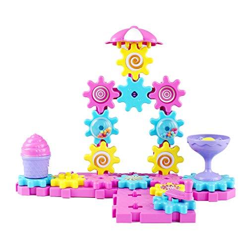 Bobury Exquisite Fun Gears Gebäude Set pädagogisches Spielzeug Bau Bausteine   Spielzeug für Mädchen Imagine Spielzeug (Mädchen-bau-spielzeug)