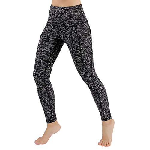 Momoxi Yogahosen,Frauen trainieren heraus Taschen-Gamaschen-Eignungs-Sport-Turnhalle, die athletische Hosen des Yoga läuft