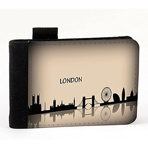Colección 27, impresión personalizada de alta calidad negro A7la agenda, color viaje Londres A7 Noir L'agenda