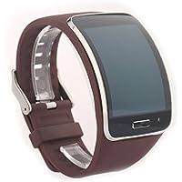 VAN-LUCKY Multi Color Opcional Correa de reloj para samsung Galaxy Gear S pulsera R750 SmartWatch Bandas de reemplazo de muñequera(Sólo la correa de reloj)
