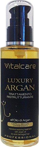 Scheda dettagliata 12 x VITALCARE Luxury Gold Oil Argan Tratt.Ristr.Capelli 100 Ml