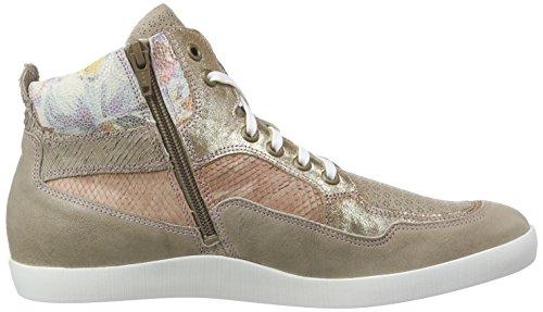 Think! Seas Sneaker, Baskets hautes femme Beige - Beige (SAND/KOMBI 46)