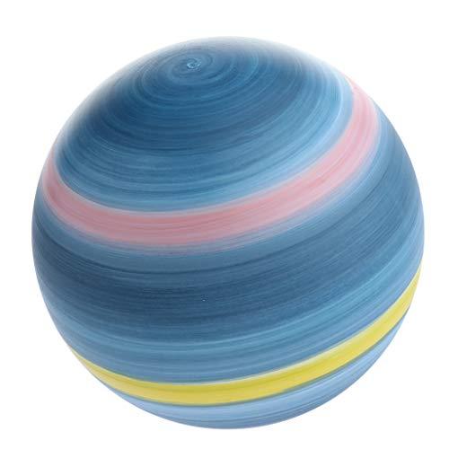 perfk Kreative Planeten Kugel Lampenschirm E27 Hängeleuchtenschirm Ø 20 cm für DIY Pendelleuchte/Hängeleuchte/Deckenleuchte - Uranus