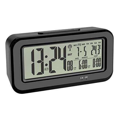 TFA Dostmann Boxx - Radiodespertador Digital Temperatura