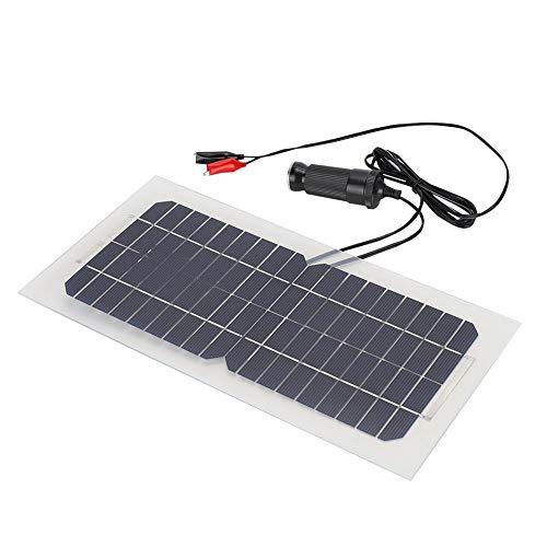 Denash Solarkollektor 18V 5.5W, Wasserdichtes Polykristallines Span-Sonnenkollektor-hohes Umwandlungs-Rate-Sonnenkollektorsystem im Freien für das Züchten des Autos im Freien