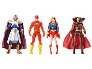 DC Universe Infinite Heroes Crisis 4-er Figuren - Psycho Pirate / The Flash / Supergirl / The Monitor