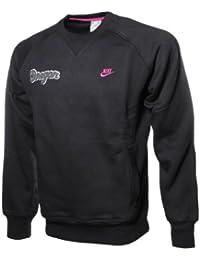 e041f118dd02 Nike Herren Crew Sweat Oregon Sweatshirt Rundhals Pullover Sweater schwarz