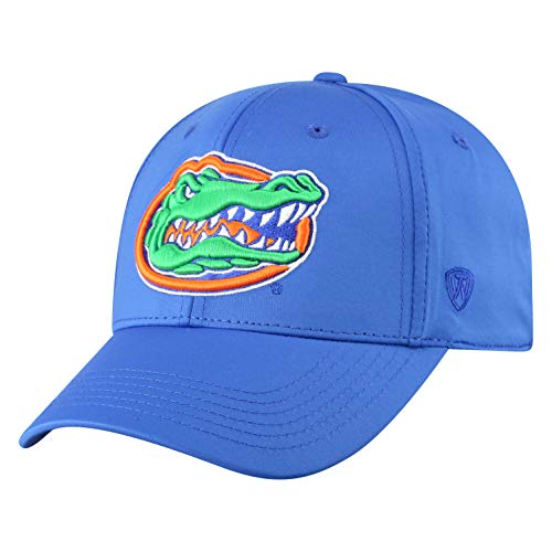 Top of the World Herren Mütze NCAA One Fit Phenom Team Icon, Herren, NCAA Men's One Fit Phenom Team Icon Hat, Florida Gators Royal, Einstellbar - Royal Blue Gator