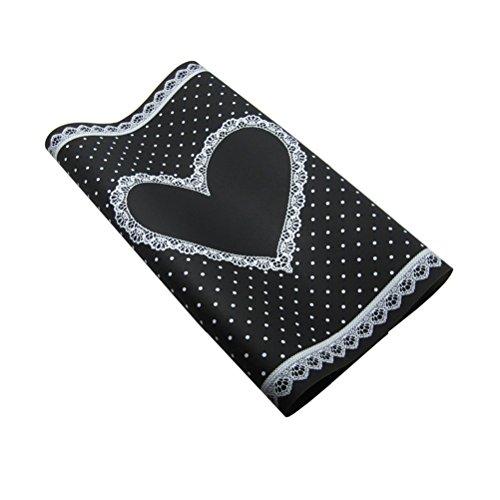 Frcolor Nagelkunst Zubehör Silikon Handauflage/ Hand Rest Pad /Tisch Matte Für Nail Art (schwarz)