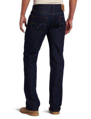 Levi's Herren Jeans 501 Original Fit Rinsed