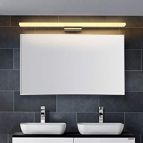 Preisvergleich Produktbild Xiaodu DREI-Töne-Lichtspiegel-Scheinwerfer Wasserdichte Anti-Nebel-Bad-Bad Spiegel-Spiegel-Lampe einfache Moderne Spiegel-Scheinwerfer LED-Lampen, Threetonelight, 40CM