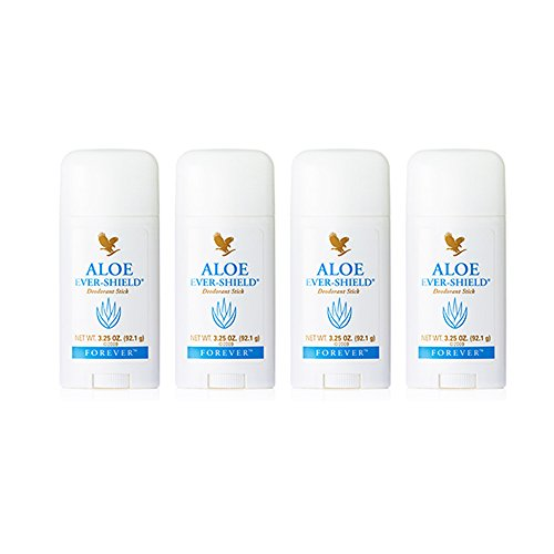 4 Aloe Vera Ever-Shield Deodorant Deo Stick - Forever Living FLP