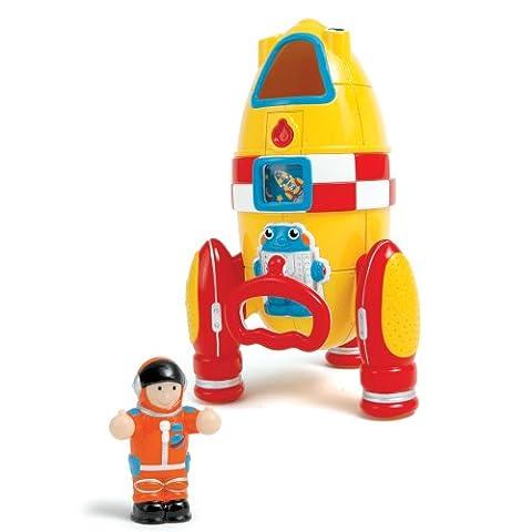 Wow Toys - A1002643 - Jouet Premier Âge - La Fusée