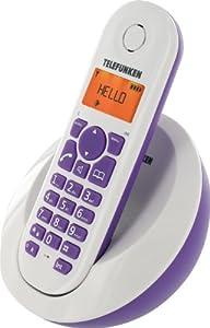 T�l�phone fixe TELEFUNKEN TB201 VIOLET SOLO SANS REPONDEUR