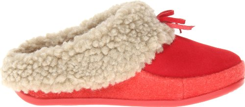 FitFlop The Cuddler, Chaussons femme Rosa ( Punch Pink/Mid Pink)
