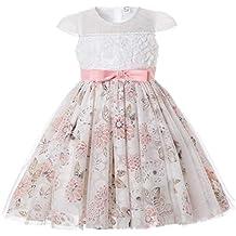 722c13dab4ae Amazon.it  Vestito a palloncino bambina - Rosa