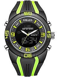 Relojes Hombre Deportivos Watches Digitales Mujer de Inteligentes niños Reloj de Hombre Reloj Deportivo de Camuflaje