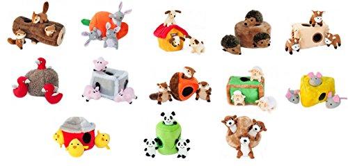 ZippyPaws Interactive Puzzle Zippy XLG Burrow XLG Dog House Dog Toy, 8-Inch/21 cm 2