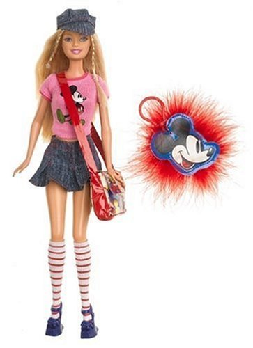 Barbie Loves Mickey Mouse by Toys (Barbie, Mickey Mouse)