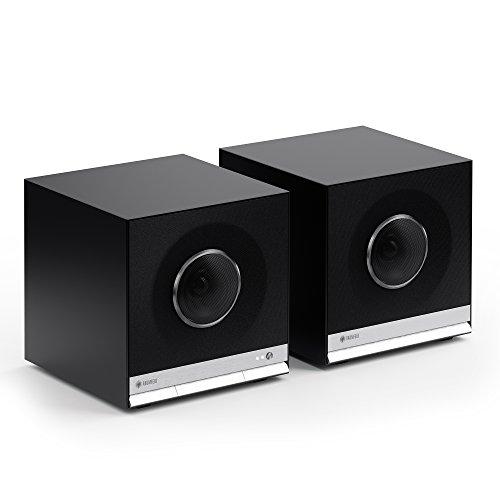Teufel Raumfeld Stereo Cubes HiFi Streaming Regallautsprecher schwarz - 2