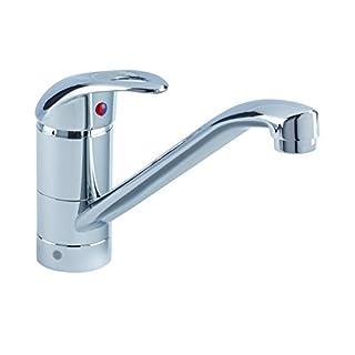 Bristan J SFSNK EF C Java Single Flow Easyfit Kitchen Sink Mixer Tap with Swivel Spout, Chrome