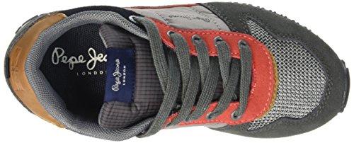 Pepe Jeans - Sydney Combi 1, Scarpe da ginnastica Bambino Gris (964Dapple)