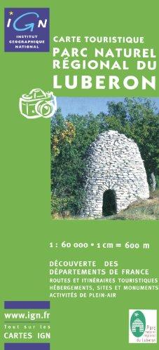Carte touristique : Parc Naturel Régional du Lubéron par Cartes Culture & Environnement IGN