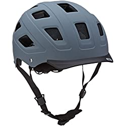 Abus 372698 - HYBAN_concrete_grey_L Casco HYBAN color concrete grey talla L