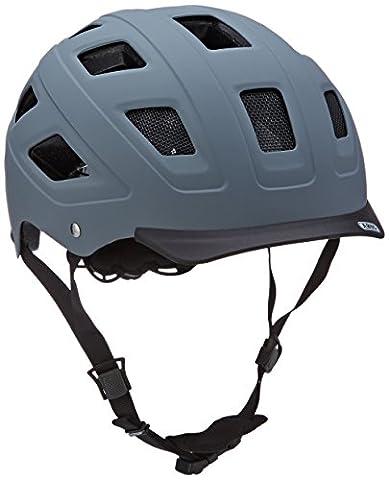 ABUS Hyban Casque Vélo Concrete Grey Taille , M, 52-58