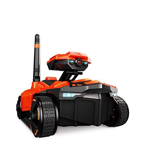 LXWM RC Auto Tank 1/18 mit HD Kamera WiFi FPV 0.3MP Kamera App Fernbedienung Tank RC Spielzeug Telefon Gesteuert Roboter Spielzeug Kinder Weihnachten Geburtstagsgeschenk