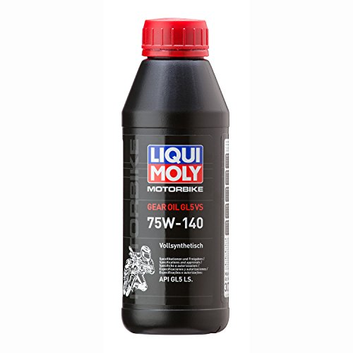 Liqui Moly Aceite para cambio Motorbike Gear Oil 75W-140(GL5) vs 5926500ml