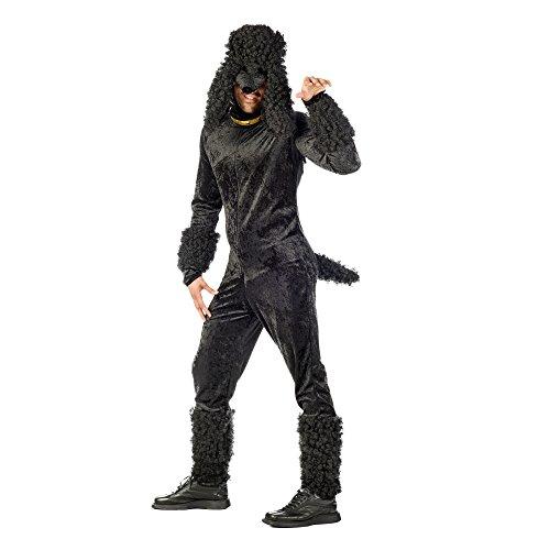 Limit Herren-Kostüm Pudel schwarz M