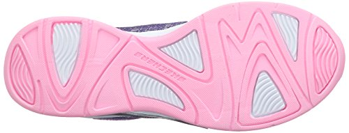 Skechers Mädchen Hi Glitz Low-Top Purple/Pink