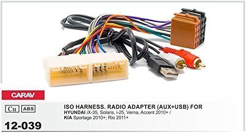 carav-12-039-cble-adaptateur-pour-autoradio-iso-pour-hyundai-ix-35-solaris-i-25-verna-accent-kia-rio
