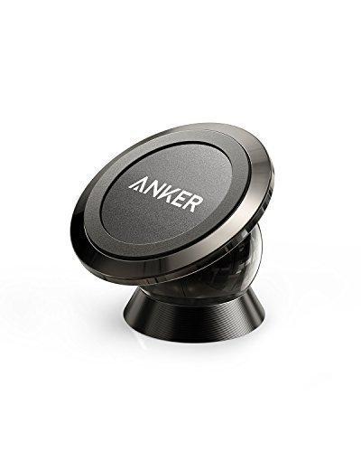 Anker Universal Magnetische Kfz Handyhalterung mit Kugelgelenk und Kleber, Extrem Kompakt für iPhone 7 / 7 Plus / 6s / Samsung Galaxy S8 / S7 / S6 und weitere Geräte