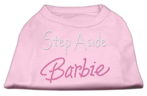 Mirage mascota productos–Step Aside Barbie Print Shirt para mascotas, 3x -Large, luz rosa