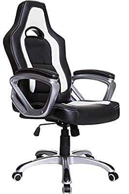 Brand New Designed Racing Sport Swivel Office chair - inexpensive UK light store.