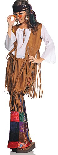 Out Erwachsene Kostüm Gr. 42/44, Mehrfarbig (Erwachsenen Peace Out Kostüme)