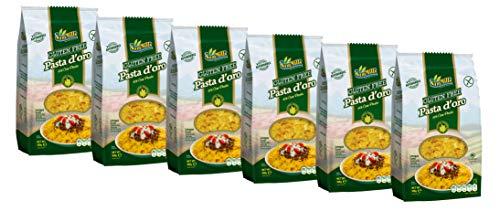 Pasta d´oro - Glutenfreie Nudeln (Lasagne Corte) aus Maismehl 12er Pack (12 x 500 g)
