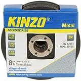 Kinzo 71769 Disque en métal 125 mm 8 pièces