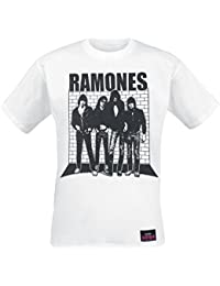 Ramones Album Camiseta Blanco