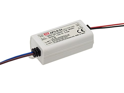 MEAN WELL, Single - PRODUKTION,110-220V AC-DC Fahren,Schaltnetzteil,Konstantstrom Switching Power Supply 7W 5V 1.4A APV-8-5 110v Dc Single