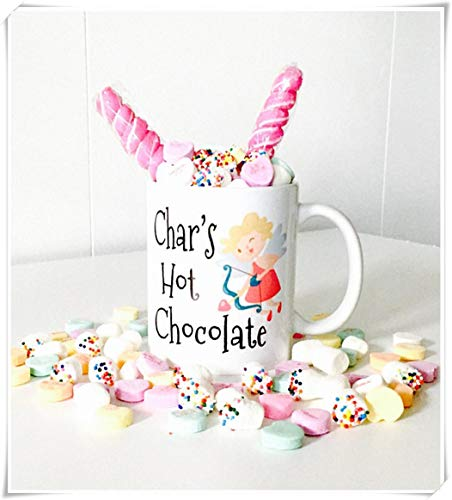 colate Mug with Cupid for Kids | Valentine's Day Party Favors | Hot Cocoa Mugs | Best Gifts Idea, Ceramic Coffee Mug/Cup 11oz ()